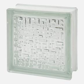 19x19x8cm Mozaik Cam Tuğla