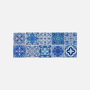 Desenli Pvc Karo 15X15 cm 10'lu Paket
