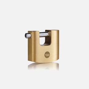 Yale 70mm Oval Kayar Pimli Pirinç Asma Kilit - Blister