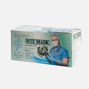 Tek Kullanımlık Telli Cerrahi Maske (100 adet)