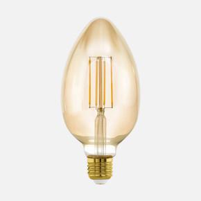 4W Dekoratif Amber B80 E27Duy Led Ampul