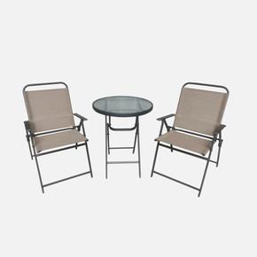 Sunfun Bistro Katlanır Masa ve Sandalye Seti