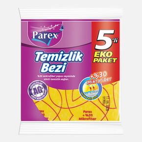 Parex Microfiber Temizlik Bezi 5'li
