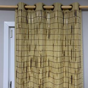 Bambu Panel Perde Yakma Nature
