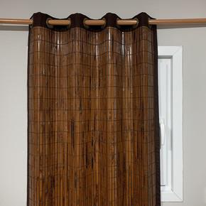 Bambu Panel Perde Yakma Maun