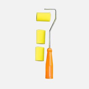 Sarı Sünger Metal Sap Rulo Set 5 cm