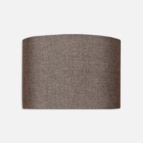 Abajur Şapkası Kahve 18 cm