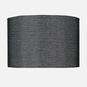 Abajur 18 cm Şapkası Siyah
