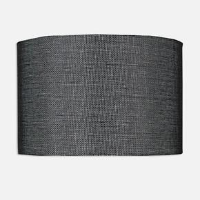 Abajur Şapkası Siyah 18 cm