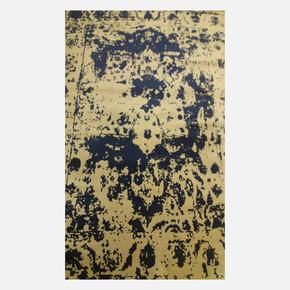 CSN11 Gri-Lacivert Bambu Halı 165x240 cm