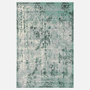 Klasik Yeşil Bambu Halı 170x240 cm
