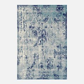 Klasik Mavi Bambu Halı 170x240 cm