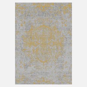 KBL05 Gri-Gold Bambu Halı 100x300 cm