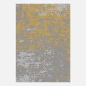 KBL03 Gri-Gold Bambu Halı 100x300 cm