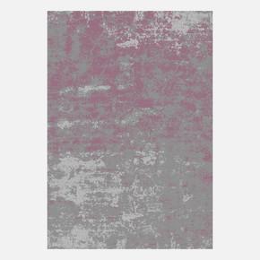 KBL03 Gri-Mürdüm Bambu Halı 100x300 cm
