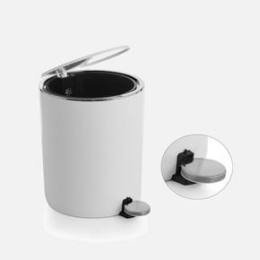 Lenox 5lt Pedallı Çöp Kovası Beyaz