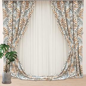 Palm Fon Gri 140x270 cm