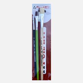 Hobby 4'lü Fırça Set