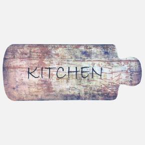Cooky 50x125 cm Kitchen Wood Mutfak Kilimi