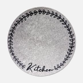 Norma 100x100 cm NR03 Kitchen Yuvarlak Mutfak Kilimi