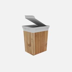 Q-Trash Çöp Kutusu Wood 10 Lt