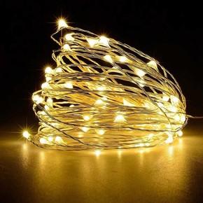 Yılbaşı Peri Led 5 Metre 50 Led Sarı Işık