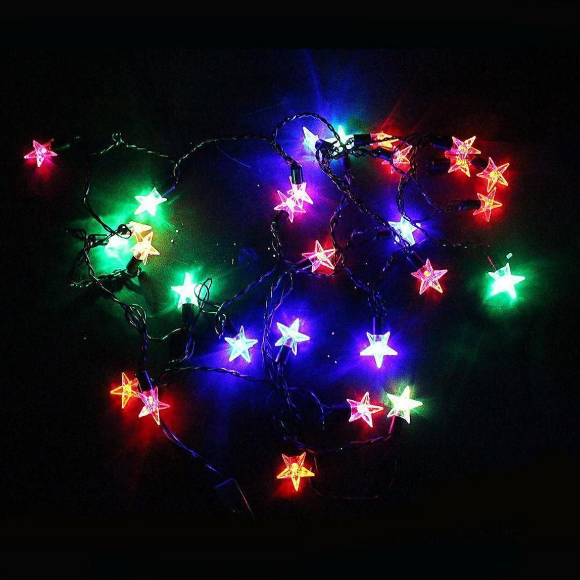 28 Led Rgb Yıldız Işık