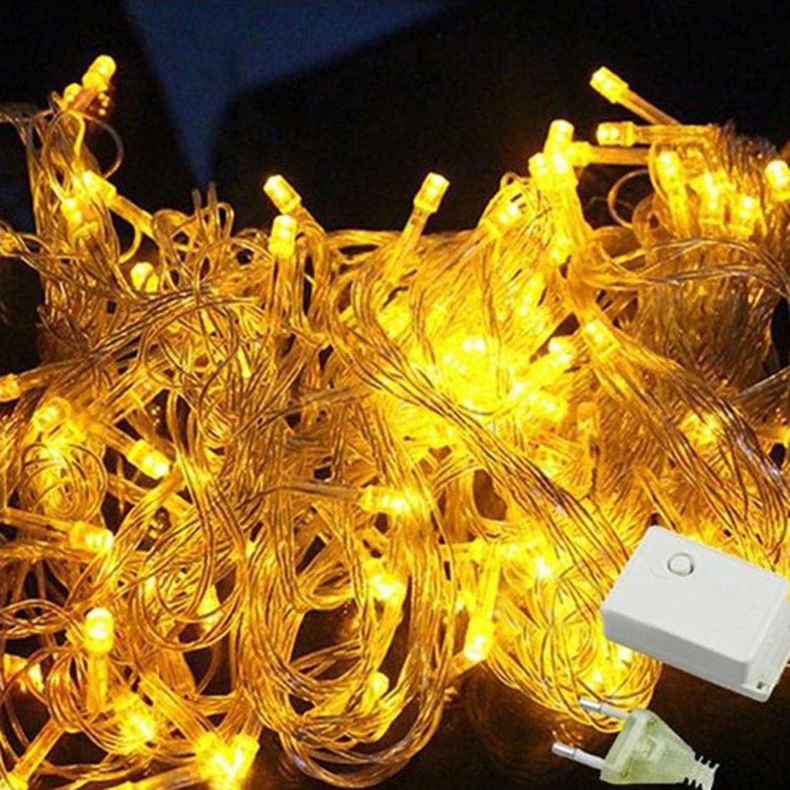 Yılbaşı 2X1 Metre Hareketli Sarı Işık