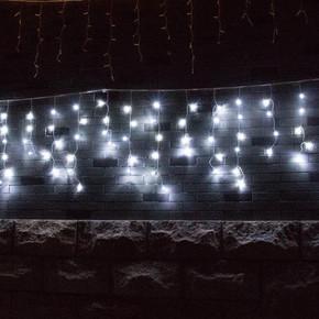 Yılbaşı 2X2 Metre Hareketli Beyaz Işık