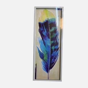 Tüy Resimli Çerçeve 25x65 cm