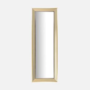 Gümüş Aynalı Çerçeveli Ayna Altın 40x110