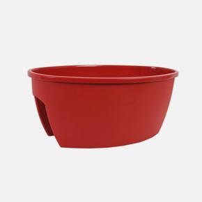 Serinova Safir Balkon Saksısı 22,5 lt Kırmızı