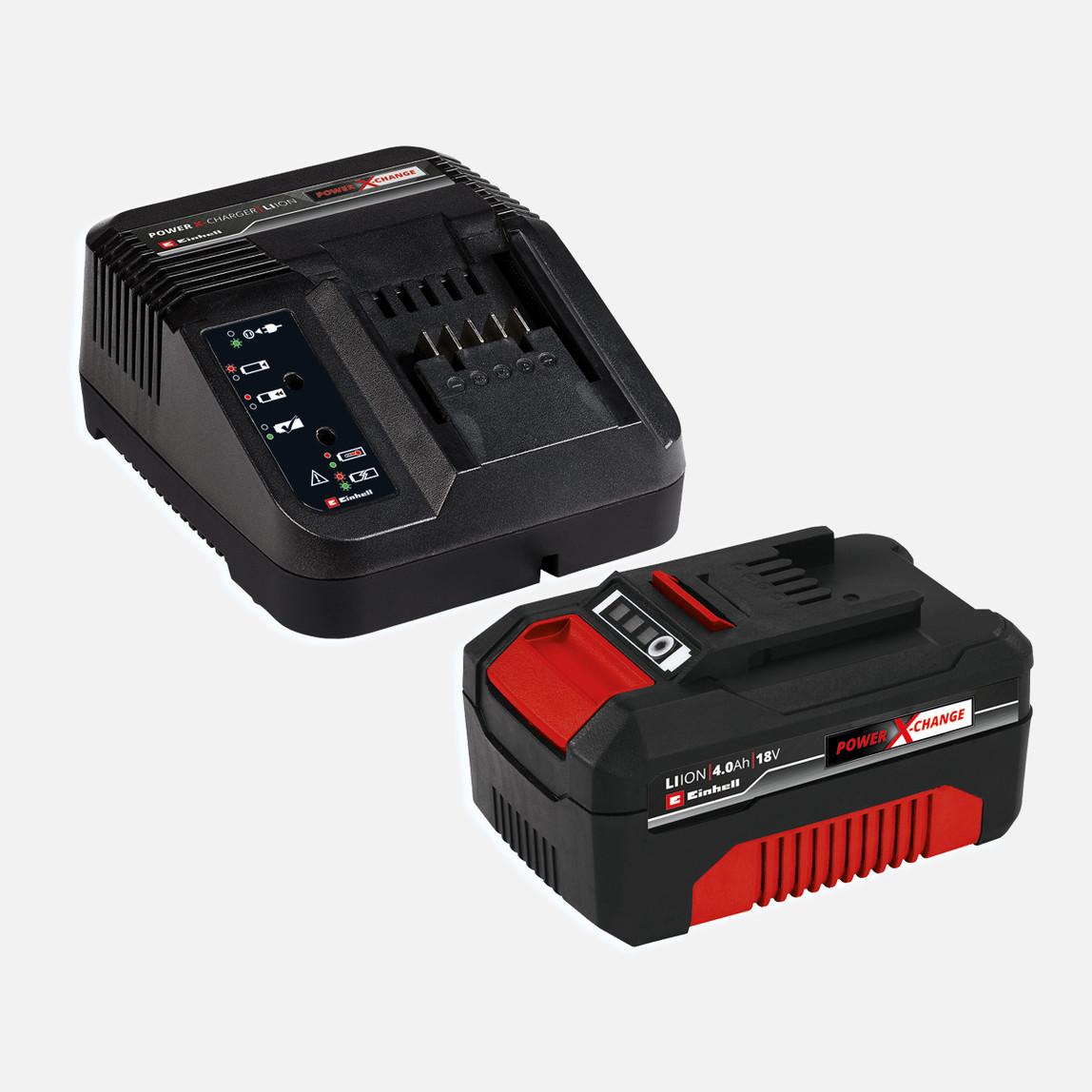 Einhell 18V 4,0Ah Akü Starter-Kit Power-X-Change