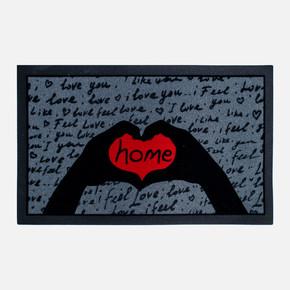 40x70 cm Love İtalyan Flok Paspas