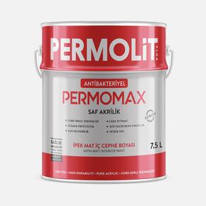 7,5 lt Permomax A.Bakteriyel İ.M Beyaz İç Cephe Boyası