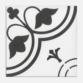 20x20 cm Sırlı Granit Tulip Beyaz