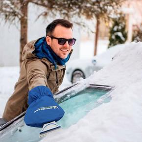 Michelin MC32637 Polar Eldivenli Buz Kazıyıcı Silecek Temizleyici