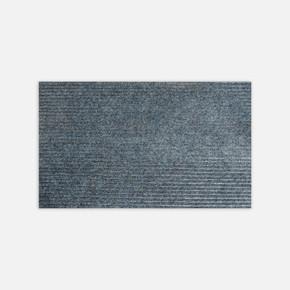 50x80 Gri Mavi Keçe Paspas