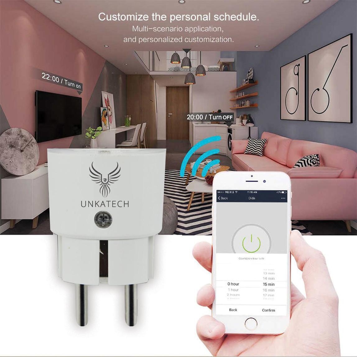 Unkatech Neo Wi-Fi Akıllı Priz