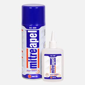 100 g+400 ml Hızlı Yapıştırıcı Mitreapel