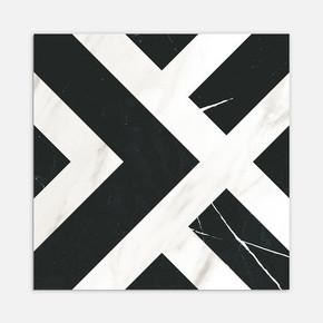 Ontario Siyah Beyaz 20x20 cm