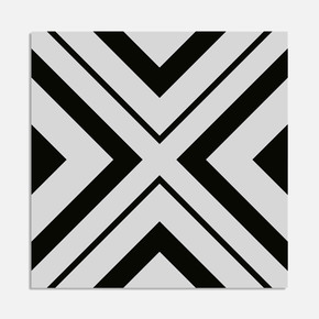 Haus Siyah 20x20 cm