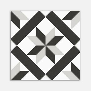 Beta Siyah Beyaz 20x20 cm