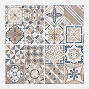 Marrakesh Mavi Mix 20x20 cm