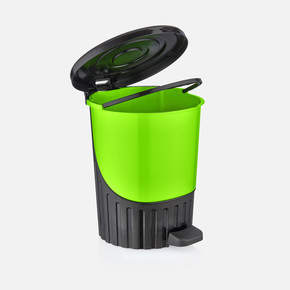 Renkli Pedallı Çöp Kovası 26 lt