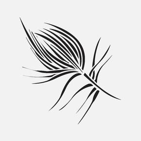 33X33Cm Doğa Motifleri Tulip Stencil