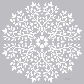 Mandala 4 Stencil 30x30 cm