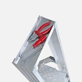 Alesta 7+1 Profesyonel Alüminyum Merdiven