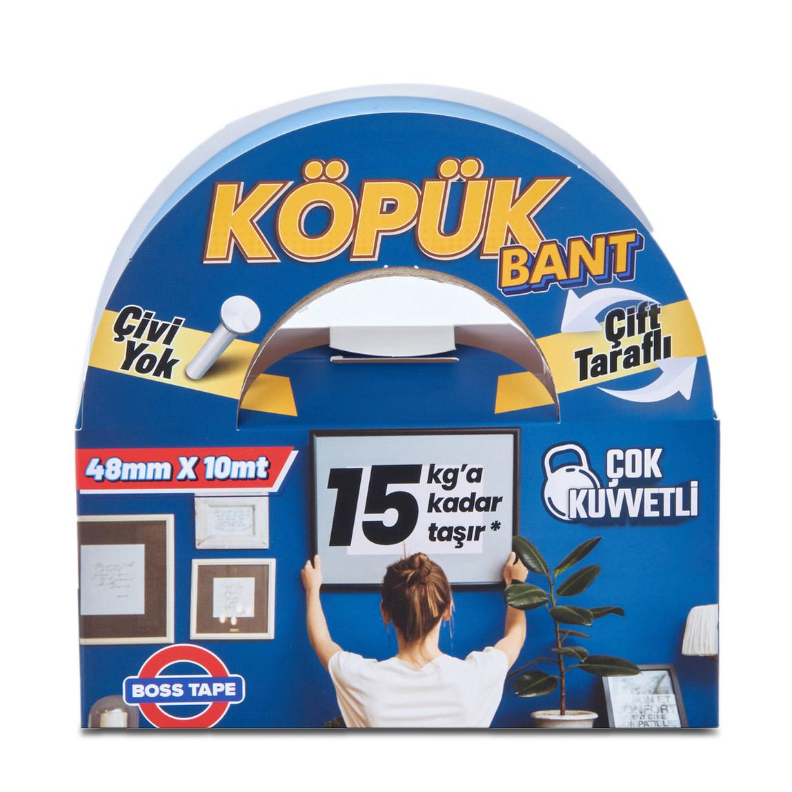 Solvent Akrilik Köpük Montaj Bandı-Mavi