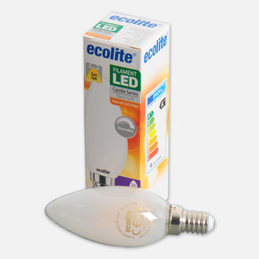 Soft Filament C35 4W E14 2700K Led Ampul